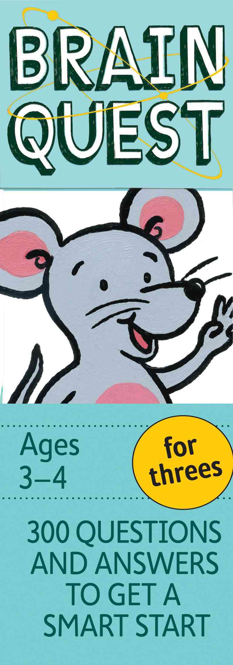 Brain Quest for Threes By Feder, Chris Welles/ Bishay, Susan